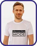 Галерея футболок Depeche Mode