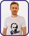 футболки Путин